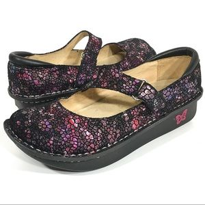 Alegria Dayna DAY-249 Mary Jane Comfort Shoe Sz 38